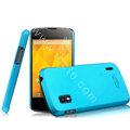 IMAK Ultrathin Matte Color Cover Hard Case for LG E960 Nexus 4 - Blue