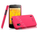 IMAK Ultrathin Matte Color Cover Hard Case for LG E960 Nexus 4 - Rose