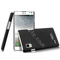 IMAK Ultrathin Matte Color Cover Hard Case for LG P765 Optimus L9 - Black