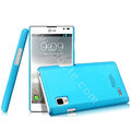 IMAK Ultrathin Matte Color Cover Hard Case for LG P765 Optimus L9 - Blue