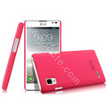 IMAK Ultrathin Matte Color Cover Hard Case for LG P765 Optimus L9 - Rose
