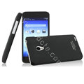 IMAK Ultrathin Matte Color Cover Hard Case for MEIZU MX2 - Black