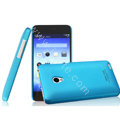 IMAK Ultrathin Matte Color Cover Hard Case for MEIZU MX2 - Blue