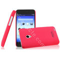 IMAK Ultrathin Matte Color Cover Hard Case for MEIZU MX2 - Rose
