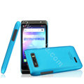 IMAK Ultrathin Matte Color Cover Hard Case for Motorola XT788 - Blue