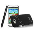 IMAK Ultrathin Matte Color Cover Hard Case for Samsung I9260 GALAXY Premier - Black