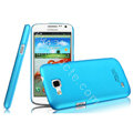 IMAK Ultrathin Matte Color Cover Hard Case for Samsung I9260 GALAXY Premier - Blue