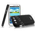 IMAK Ultrathin Matte Color Cover Hard Case for Samsung I939D GALAXY SIII - Black