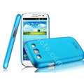 IMAK Ultrathin Matte Color Cover Hard Case for Samsung I939D GALAXY SIII - Blue