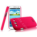 IMAK Ultrathin Matte Color Cover Hard Case for Samsung I939D GALAXY SIII - Rose