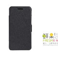 Nillkin Fresh leather Case button Holster Cover Skin for Coolpad 8730 - Black
