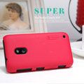 Nillkin Super Matte Hard Case Skin Cover for Nokia Lumia 620 - Red