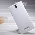 Nillkin Super Matte Hard Case Skin Cover for OPPO X909 Find 5 - White