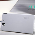 Nillkin Super Matte Hard Case Skin Cover for Sony Ericsson L36i L36h Xperia Z - White