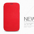 Nillkin leather Case Holster Cover Skin for Samsung I9082 Galaxy Grand DUOS - Red
