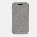 Nillkin leather Cases Holster Covers Skin for BlackBerry Z10 - Gray