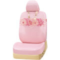 VV 3D flower Lyocell Custom Auto Car Seat Cover Set - Pink