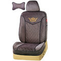 VV Custom Auto Car Seat Cover Set camel velvet - Coffee