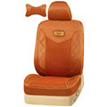 VV Lyocell mesh Custom Auto Car Seat Cover Set - Brown