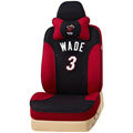 VV Sports mesh Custom Auto Car Seat Cover Set - Black Red