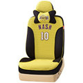 VV Sports mesh Custom Auto Car Seat Cover Set - Yellow Black