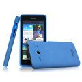 IMAK Cowboy Shell Hard Case Cover for HUAWEI C8813 - Blue