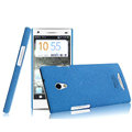 IMAK Cowboy Shell Hard Case Cover for OPPO U705T Ulike2 - Blue