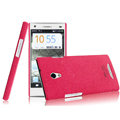 IMAK Cowboy Shell Hard Case Cover for OPPO U705T Ulike2 - Rose