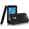 IMAK Ultrathin Matte Color Cover Hard Case for Nokia Lumia 620 - Black