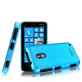 IMAK Ultrathin Matte Color Cover Hard Case for Nokia Lumia 620 - Blue