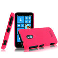 IMAK Ultrathin Matte Color Cover Hard Case for Nokia Lumia 620 - Rose
