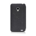 Nillkin leather Cases Holster Covers Skin for MEIZU MX2 - Black