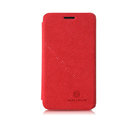 Nillkin leather Cases Holster Covers Skin for MEIZU MX2 - Red