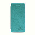 Nillkin leather Cases Holster Covers Skin for OPPO X909 Find 5 - Green