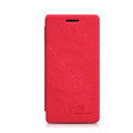 Nillkin leather Cases Holster Covers Skin for OPPO X909 Find 5 - Red