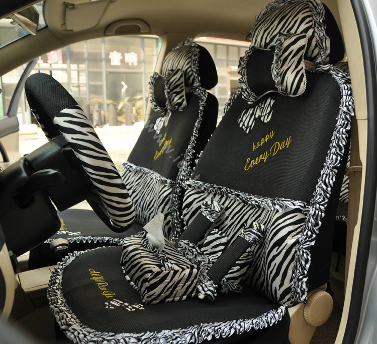 Seat Covers Seat Covers Zebra