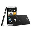 IMAK Cowboy Shell Hard Case Cover for HTC One M7 801e - Black
