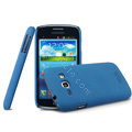 IMAK Cowboy Shell Hard Case Cover for Samsung i829 Galaxy Style Duos - Blue