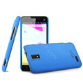 IMAK Cowboy Shell Hard Case Cover for ZTE U956 - Blue
