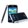 IMAK Crystal Case Hard Cover Transparent Shell for Samsung i829 Galaxy Style Duos - White