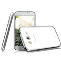 IMAK Crystal Case Hard Cover Transparent Shell for Samsung i9080 i9082 Galaxy Grand DUOS - White