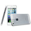 IMAK Crystal Case Hard Cover Transparent Shell for iPhone 5 - White