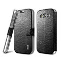 IMAK Slim leather Case support Holster Cover for Samsung i9080 i9082 Galaxy Grand DUOS - Black