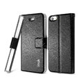 IMAK Slim leather Case support Holster Cover for iPhone 5 - Black