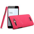 IMAK Ultrathin Matte Color Cover Hard Case for HTC J butterfly X920d - Rose