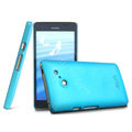 IMAK Ultrathin Matte Color Cover Hard Case for HUAWEI Ascend D2 - Blue