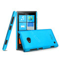 IMAK Ultrathin Matte Color Cover Hard Case for Nokia Lumia 720 - Blue