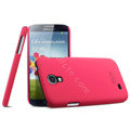 IMAK Ultrathin Matte Color Cover Hard Case for Samsung GALAXY S4 I9500 SIV - Rose