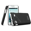 IMAK Ultrathin Matte Color Cover Hard Case for Samsung i8258 - Black