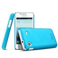 IMAK Ultrathin Matte Color Cover Hard Case for Samsung i8258 - Blue